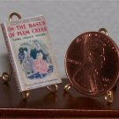 Dollhouse Miniature Book On the Banks of Plum Creek LIW