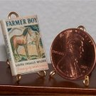 Dollhouse Miniature Farmer Boy by Laura Ingalls Wilder