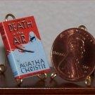 Dollhouse Miniature Death in the Air by Agatha Christie