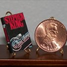 Dollhouse Miniature Book Christine by Stephen King 1:12