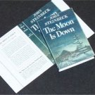 Dollhouse Miniature Book Moon is Down by John Steinbeck