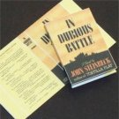 Dollhouse Miniature In Dubious Battle by John Steinbeck