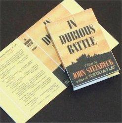 Dollhouse Miniature In Dubious Battle by John Steinbeck