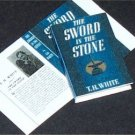 Dollhouse Miniature Book Sword in the Stone T H White