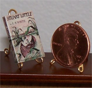 Dollhouse Miniature Book Stuart Little by EB White 1:12