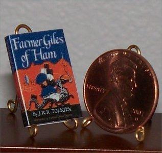 Dollhouse Miniature Farmer Giles of Ham by JRR Tolkien