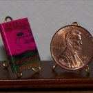 Dollhouse Miniature Book War of the Worlds by HG Wells