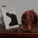 Dollhouse Miniature Book Island of Dr. Moreau HG Wells