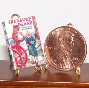 Dollhouse Miniature Treasure Island Robert L Stevenson