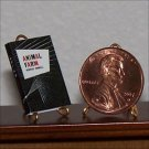 Dollhouse Miniature Book Animal Farm George Orwell 1:12