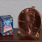 Dollhouse Miniature Food Grocery Strawberry Pop-Tarts