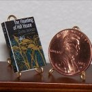 Dollhouse Miniature Book Haunting of Hill House Jackson