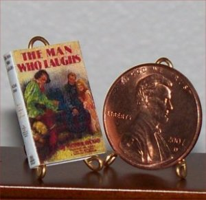 Dollhouse Miniature The Man Who Laughs Victor Hugo 1:12