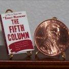 Dollhouse Miniature The Fifth Column Ernest Hemingway