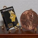 Dollhouse Miniature Book Belshazzar by H. Rider Haggard