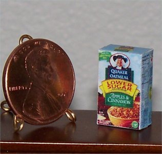 Dollhouse Miniature Food Grocery Instant Oatmeal 1:12