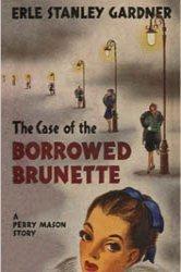 Dollhouse Miniature Book Case of the Borrowed Brunette