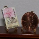 Dollhouse Miniature You Only Live Twice by Ian Fleming