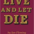 Dollhouse Miniature Book Live and Let Die Ian Fleming