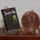 Dollhouse Miniature James Bond Dr. No by Ian Fleming US
