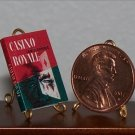 Dollhouse Miniature Casino Royale Ian Fleming JamesBond