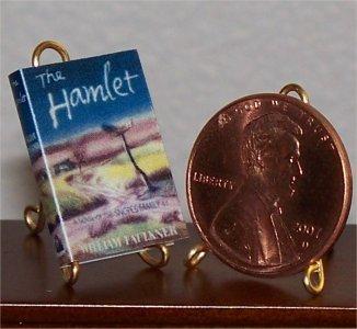 Dollhouse Miniature Book The Hamlet by William Faulkner