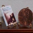 Dollhouse Miniature Book Count of Monte Cristo A. Dumas