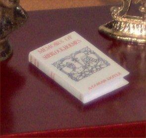 Dollhouse Miniature Memoirs of Sherlock Holmes AC Doyle