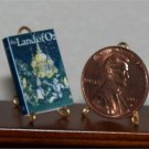 Dollhouse Miniature Book The Land of Oz by L Frank Baum