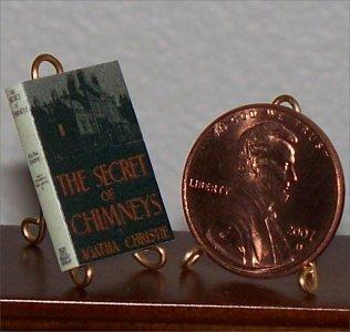Dollhouse Miniature Secret of Chimneys Agatha Christie