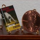 Dollhouse Miniature The Moving Finger Agatha Christie