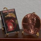 Dollhouse Miniature Book Murder on the Orient Express