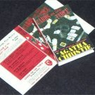Dollhouse Miniature Cards on the Table Agatha Christie