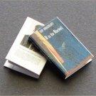 Dollhouse Miniature Book R is for Rocket Ray Bradbury
