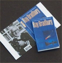 Dollhouse Miniature Book Driving Blind by Ray Bradbury
