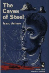 Dollhouse Miniature Book Caves of Steel by Isaac Asimov