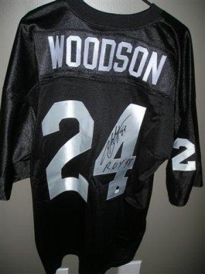 Woodson Autographed Jersey
