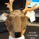 DEER HAT Cap HALLOWEEN COSTUME Reindeer BUCK doe FLOPPY Antlers BAMBI Hunting Decoy Mens UNISEX
