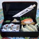 JAPANESE DISHES small bento box trays lid boxes new obento banto hako Made in Japan