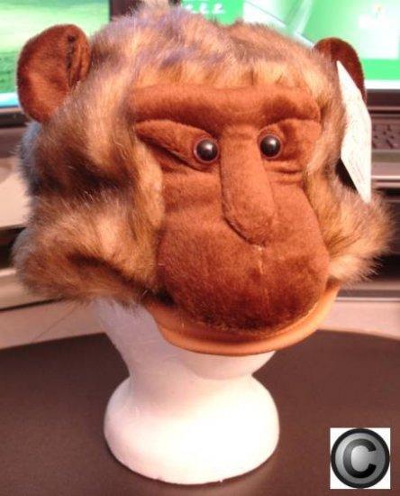 MONKEY HAT mascot head mask animal HALLOWEEN COSTUME babboon ape