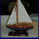 "14"" SHIP BOAT TABLE CENTERPIECES Nautical Theme SAILBOAT blue bottom MODEL buy one or more"