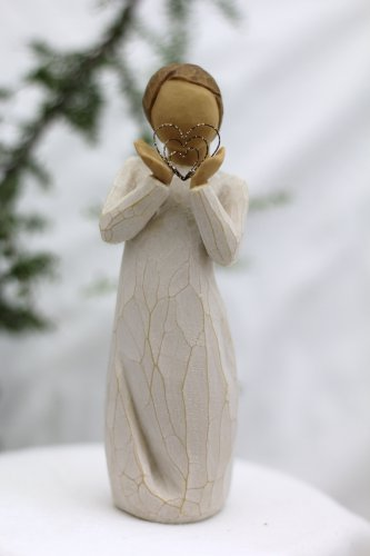 Willow Tree ANGEL LOTS OF LOVE Susan Lordi New Gift figurine statue HEARTS