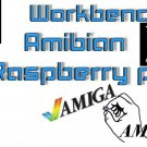 Raspberry PI 2/3/4/PI400 Classic Workbench OS Mutiboot 9 in 1 sd card image DVD