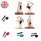 Leg Stretcher Flexibility Trainer Ballet Stretcher Gymnastic Stretch Belt (BLACK)