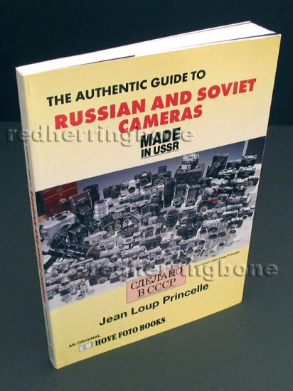 The Authentic Guide to Russian and Soviet Cameras by Jean Loup Princelle NEW