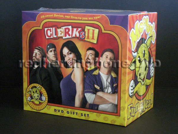 Clerks 2 DVD RARE Gift Set (Two, II) Kevin Smith Mooby's (Best Buy Exclusive) NEW