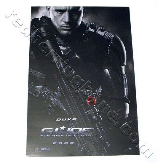 G.I. Joe: The Rise of Cobra (2009) Promo Movie Teaser Poster (Channing Tatum, Dennis Quaid) NEW