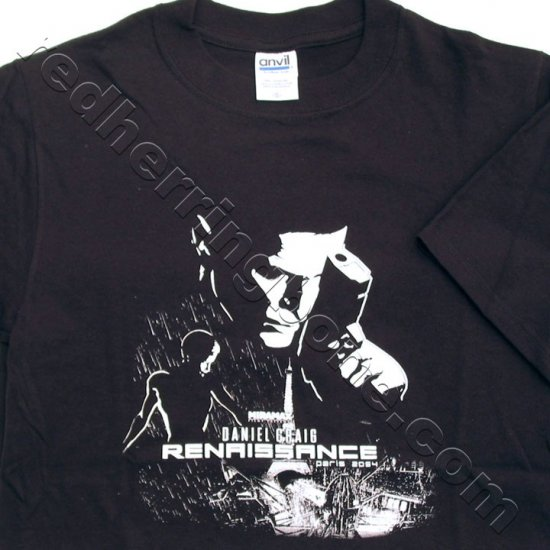 Renaissance Movie Promo T-Shirt (Black, Size SMALL) NEW