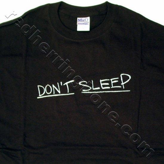 """Don't Sleep"" The Invasion Movie Promo T-Shirt (Black, Size X-LARGE) NEW"
