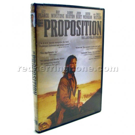 The Proposition Widescreen DVD (Guy Pearce, Nick Cave) NEW